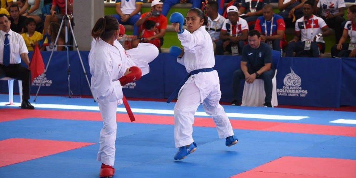 Primer día en blanco para el karate en los Juegos Bolivarianos