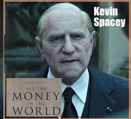Kevin Spacey quedó fuera.