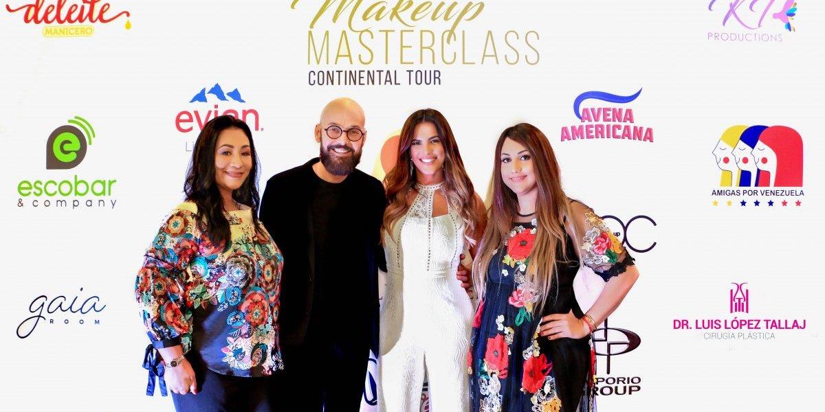 """Gaby Espino y Luis Enrique Urbano realizan  """"Master Class Continental Tour"""""""