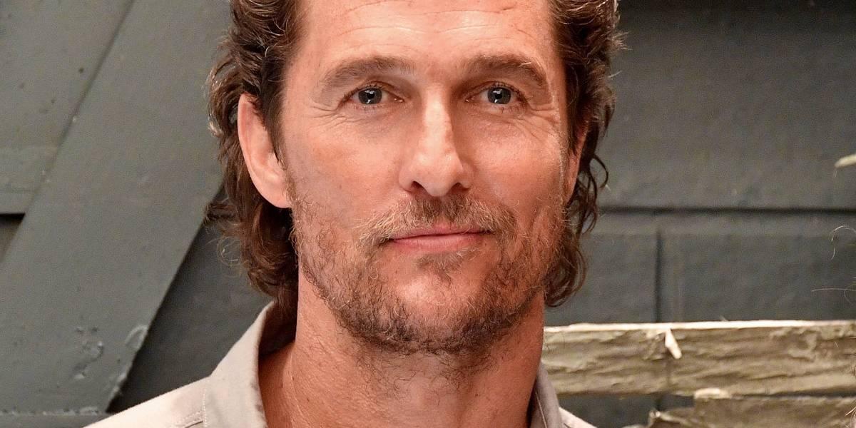 Matthew McConaughey aparece irreconhecível mais uma vez