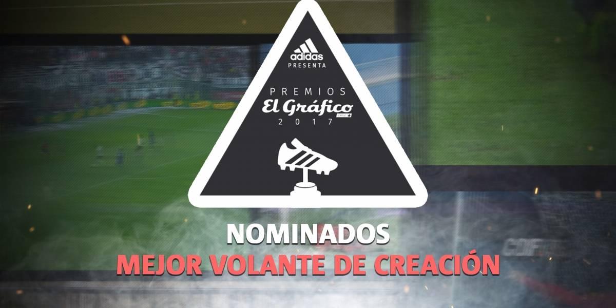 Premios El Gráfico 2017: los mediocampistas encargados de crear en el Equipo Ideal del año