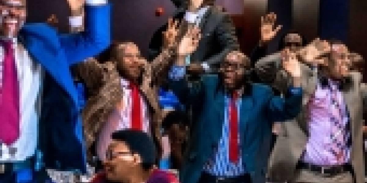Así fueron los gritos de júbilo en el Parlamento de Zimbabue ante la renuncia de Robert Mugabe