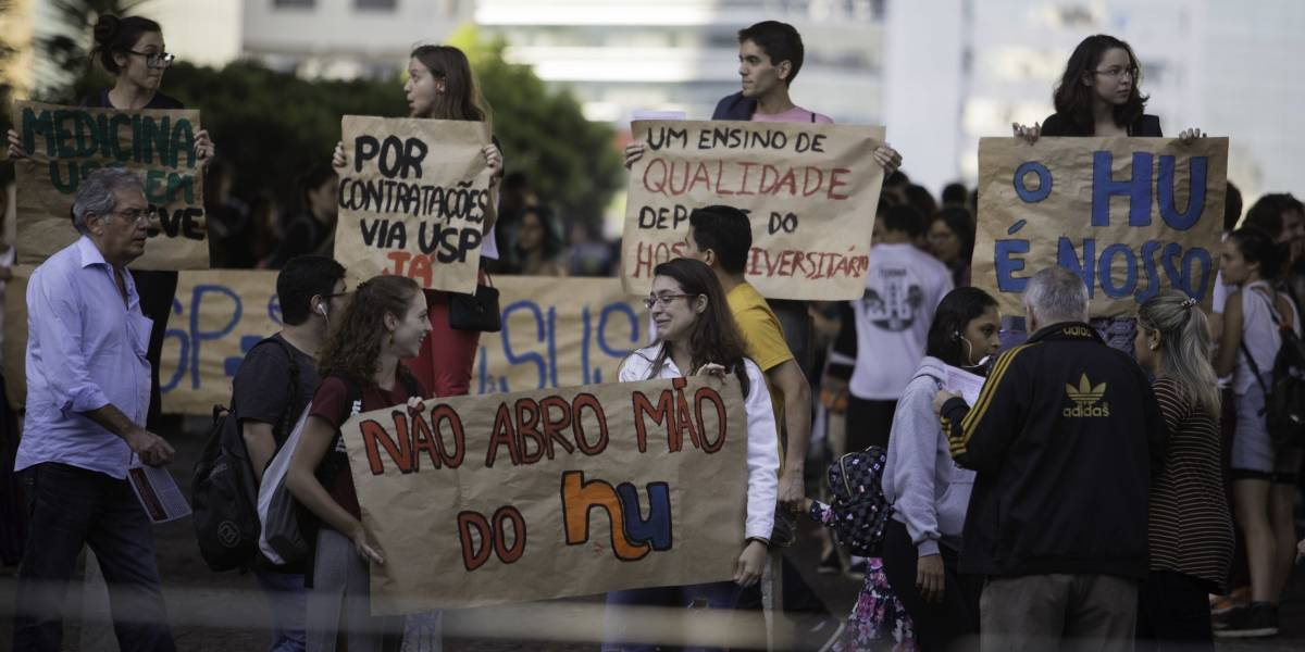 Médicos residentes da pediatria aderem à greve do Hospital Universitário