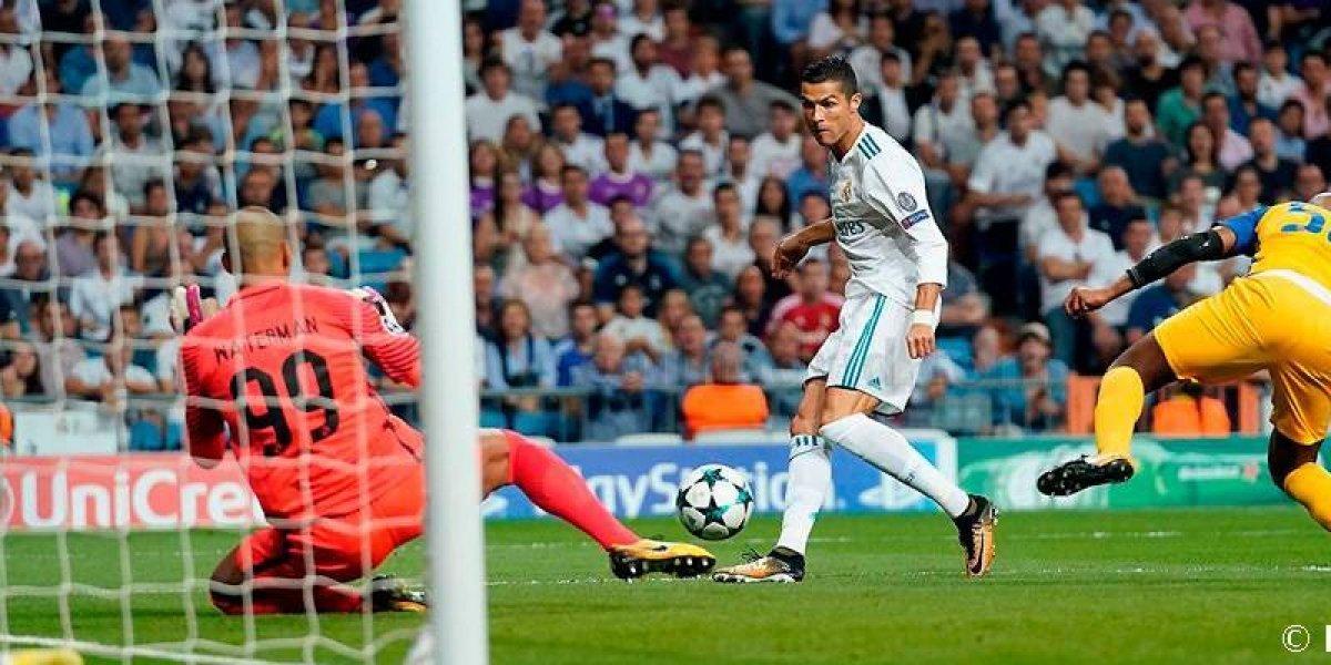 Real Madrid se impone con goleada sobre el APOEL