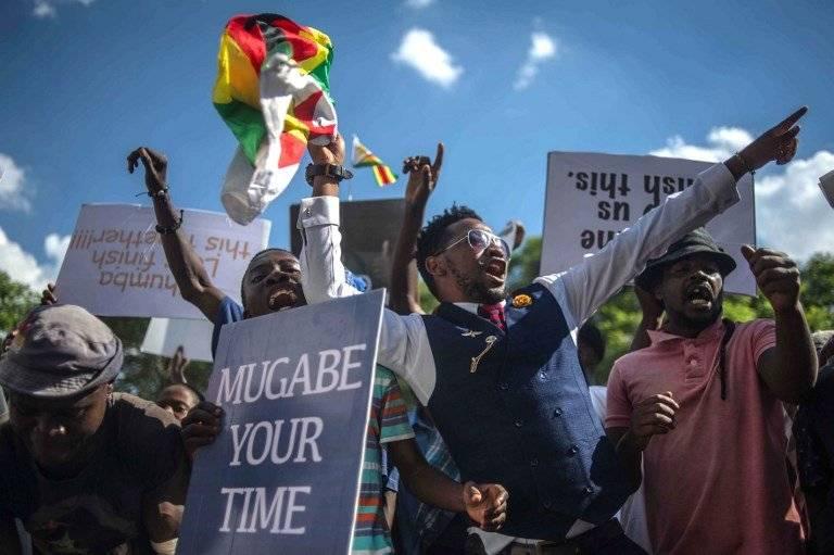 Festejos en Zimbabue