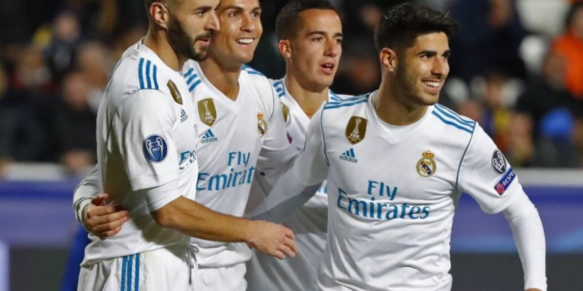 El Madrid golea al modesto APOEL y clasifica a octavos de la Champions