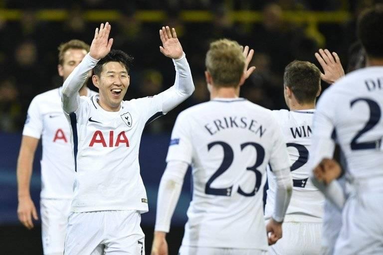 Gol del Tottenham ante el Borussia Dortmund