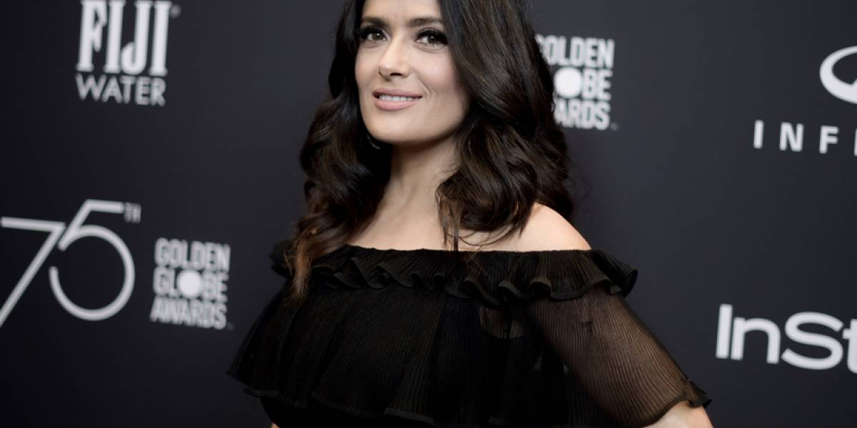 "Salma Hayek es nominada a Indepentent Spirit por ""Beatriz at Dinner"""
