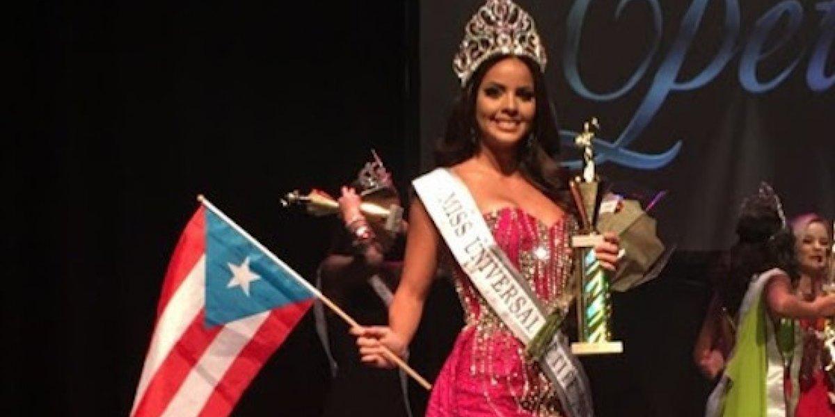 Boricua se alza con la corona de Miss Universal Petite 2017