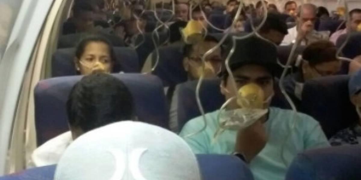 'Aterradores minutos': Avión aterriza de emergencia en Manta