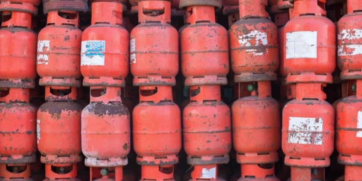 Se llevan 18 cilindros de gas de negocio en San Lorenzo