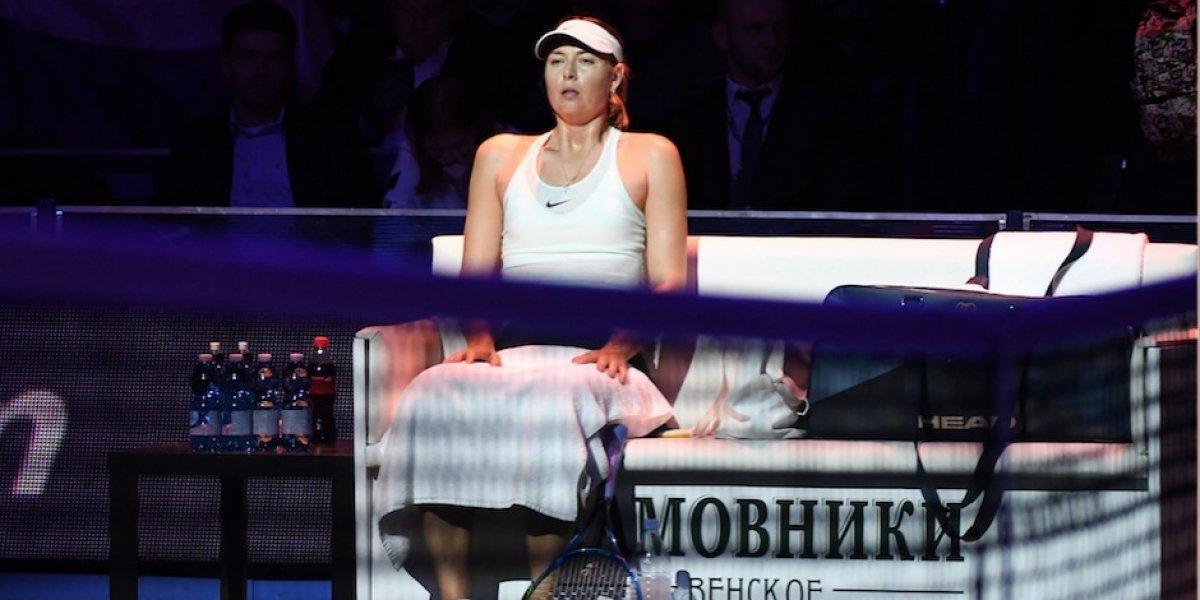 Involucran a Maria Sharapova en una investigación por un caso de estafa