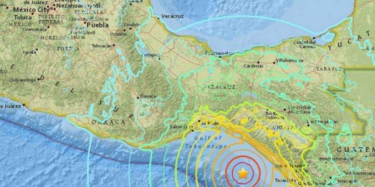 Sismo de cinco grados sacude otra vez Chiapas