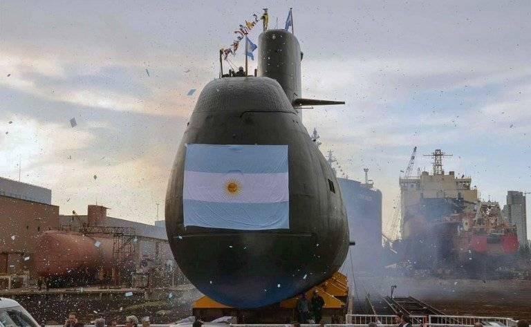 Submarino argentino desaparecido