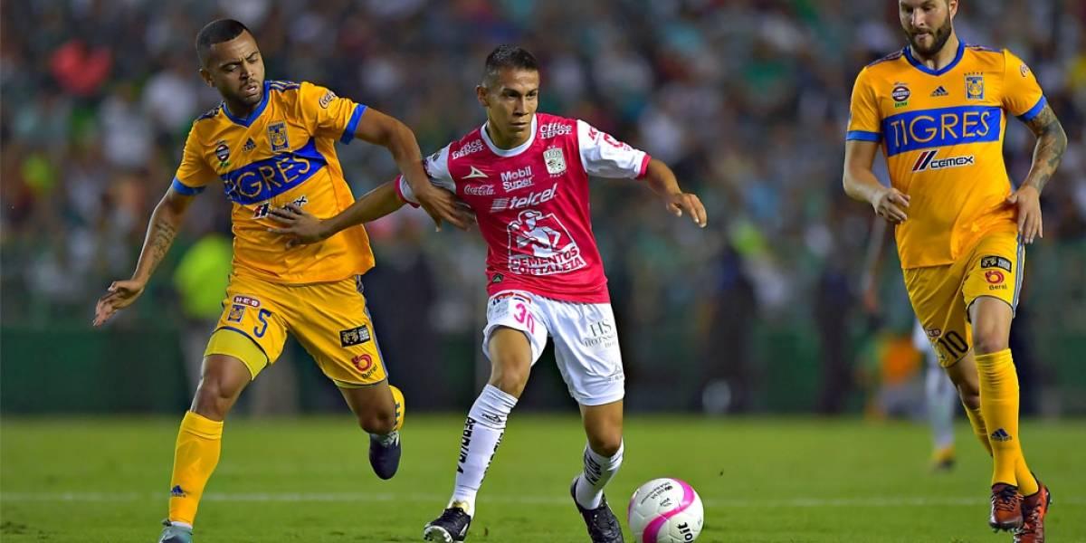 Rescata Tigres empate en León
