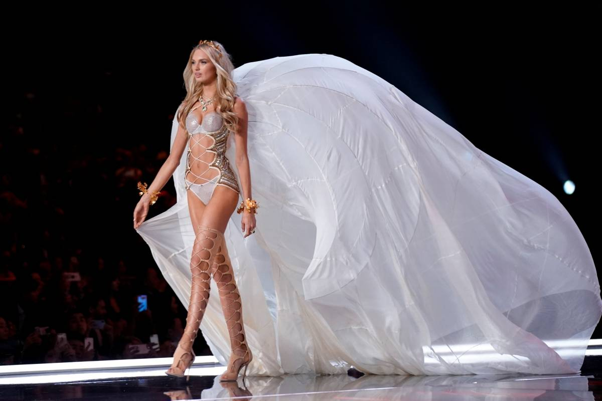 Modelo Romee Strijd Aly Song/Reuters