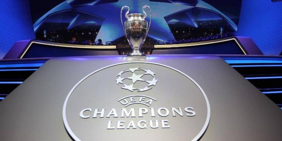 Los equipos clasificados a octavos de final de la Champions