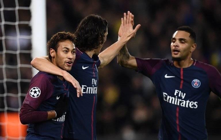 """La """"MCN"""" junta acumula la friolera de 41 dianas en todas las competiciones, 16 de ellas anotadas en Liga de Campeones, siete para Cavani, seis para Neymar y tres para Mbappé (Fotos:AFP)"""