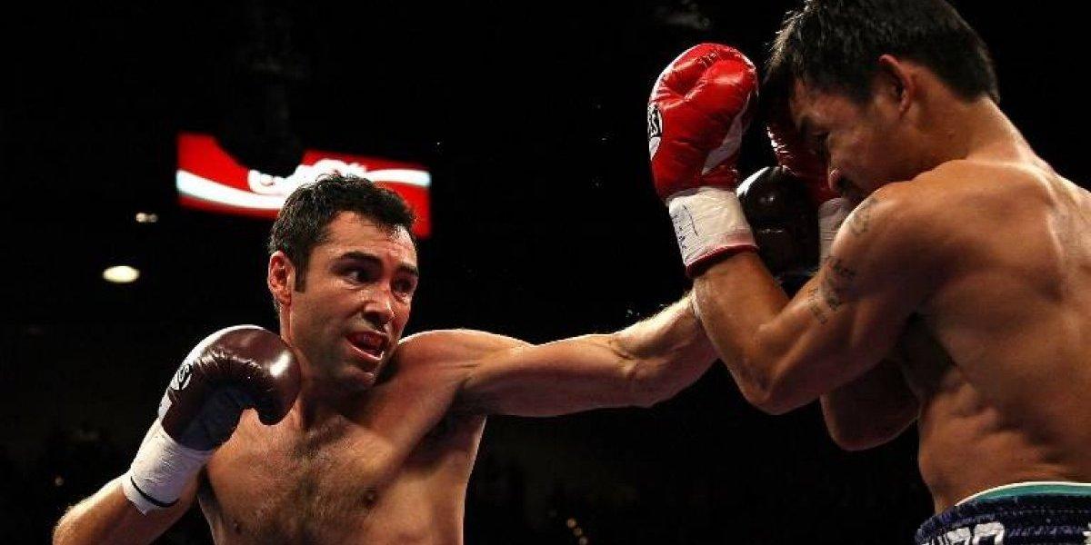 Oscar de la Hoya vuelve al boxeo y reta a McGregor