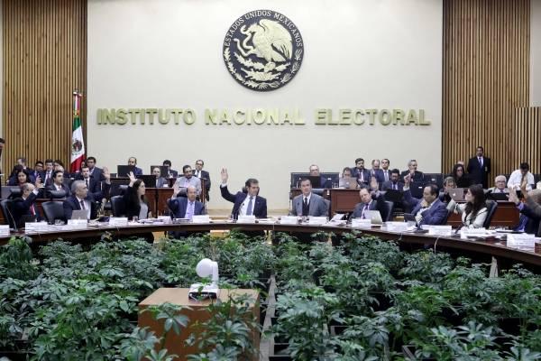 Las reglas se definieron en el Consejo General del INE.