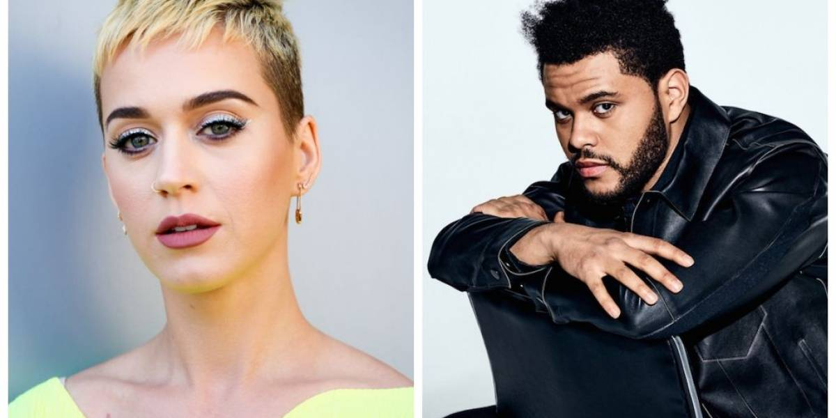 Katy Perry e The Weeknd são flagrados jantando juntos
