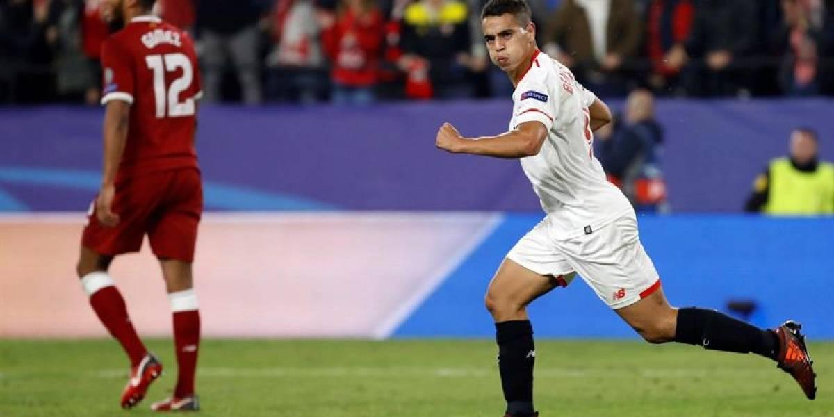 Goleador del Sevilla se burló del Milan tras empate épico contra Liverpool