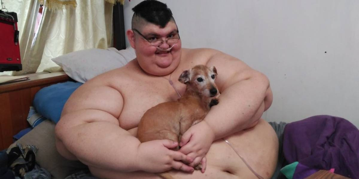 Depois de chegar a 595 quilos, homem mais gordo do mundo perde quase metade do seu peso em 1 ano