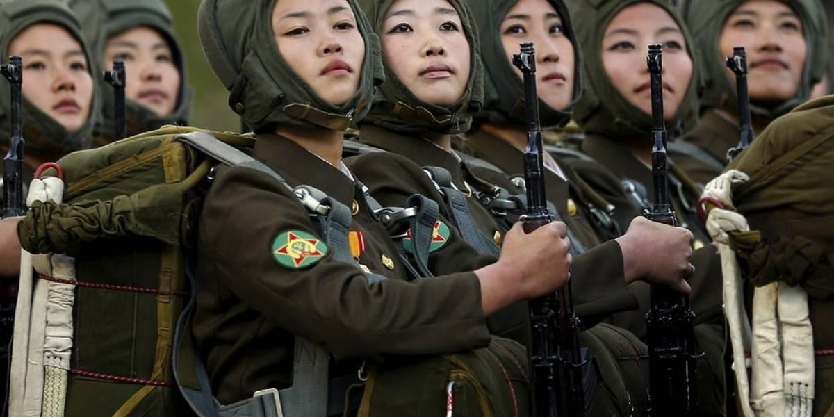 """""""Dejábamos de tener la menstruación"""": la dura vida de las mujeres en el ejército de Corea del Norte"""