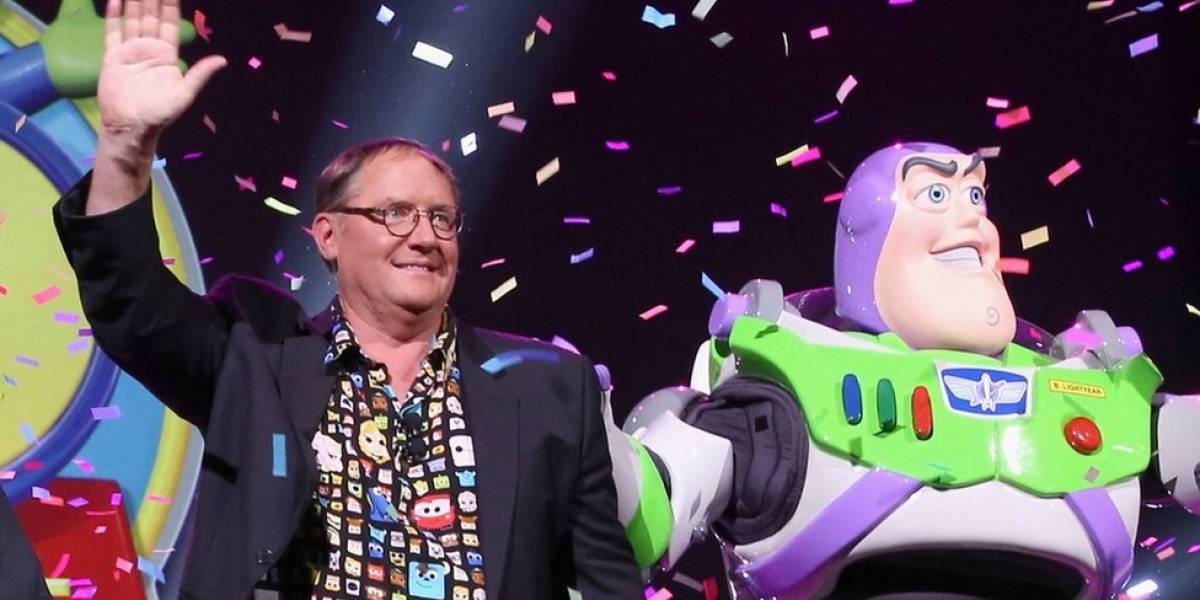 """John Lasseter, fundador de los estudios de animación Pixar, es acusado de acoso sexual y se disculpa por dar """"abrazos no deseados"""""""