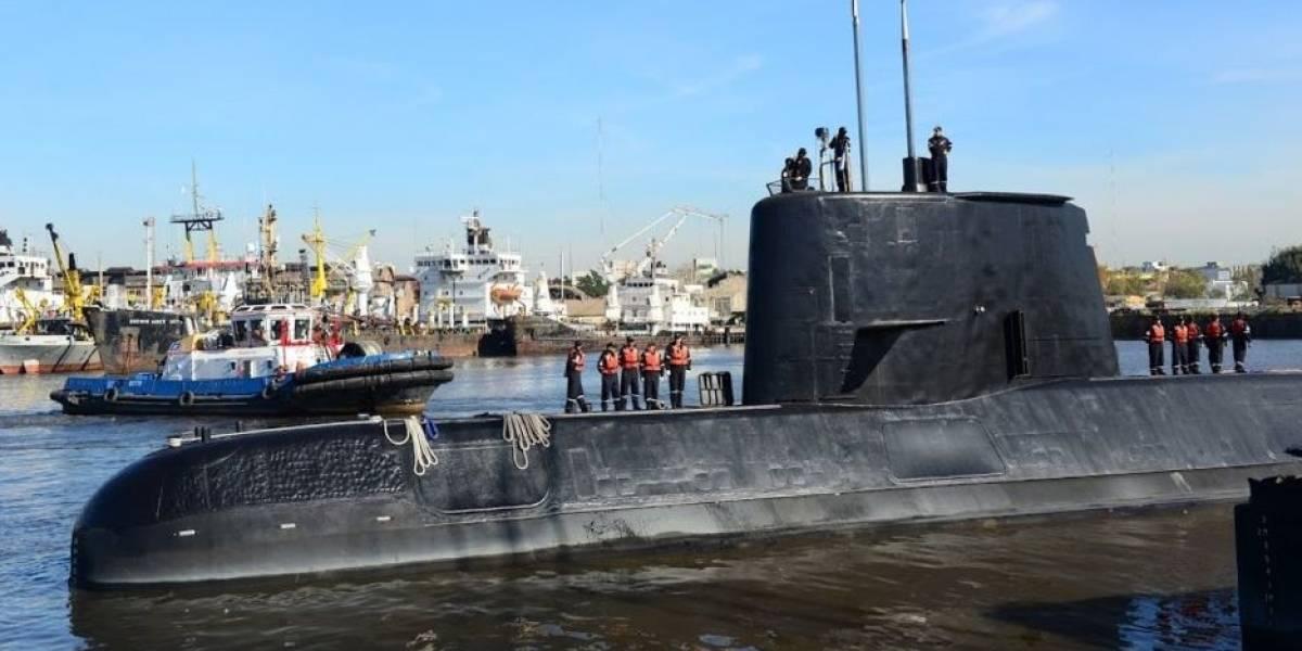 Busca por submarino argentino detecta sinal importante no fundo do mar