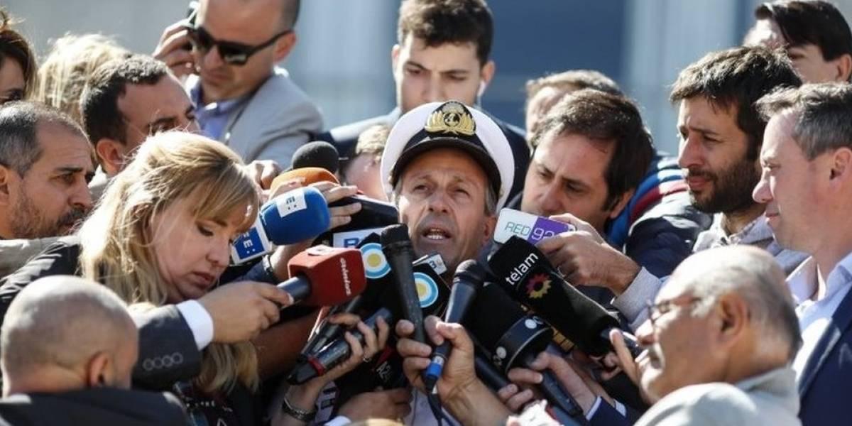 """Argentina investiga """"un ruido"""" que se escuchó horas después de la desaparición del submarino ARA San Juan"""
