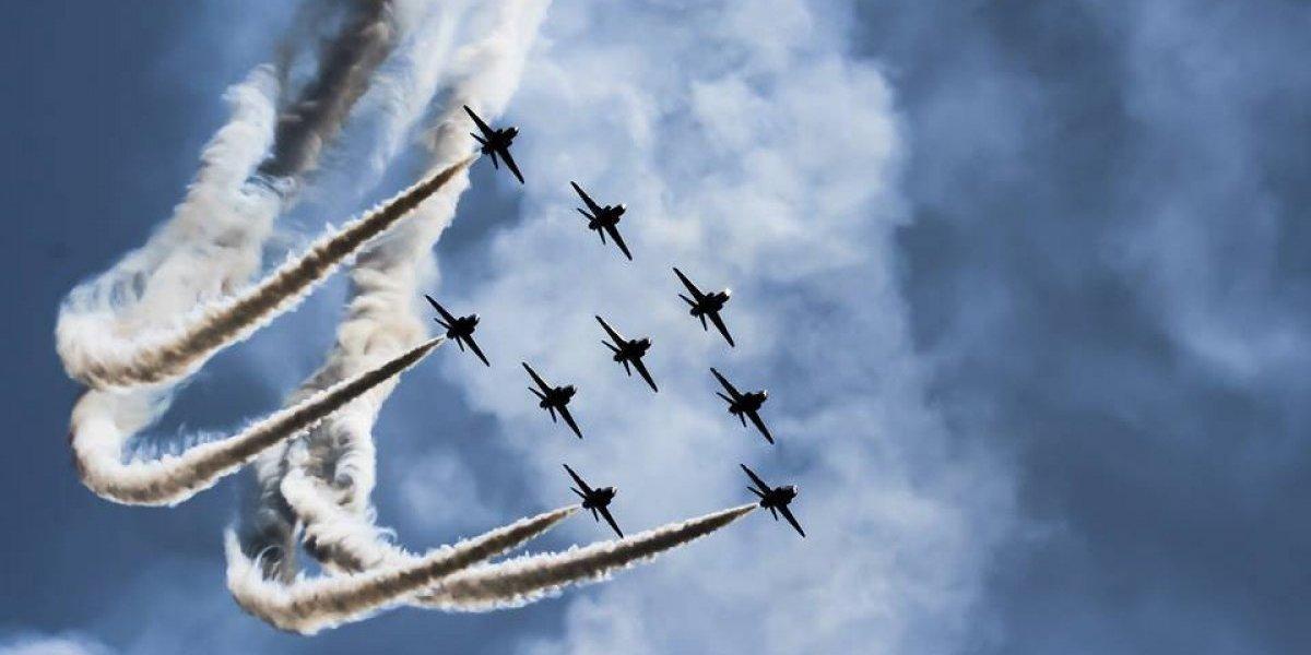 Más de 20 aeronaves harán acrobacias en el cielo durante el Show Aéreo 2017