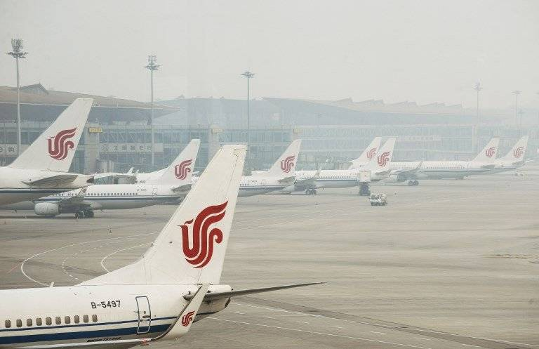 Aviones de Air China