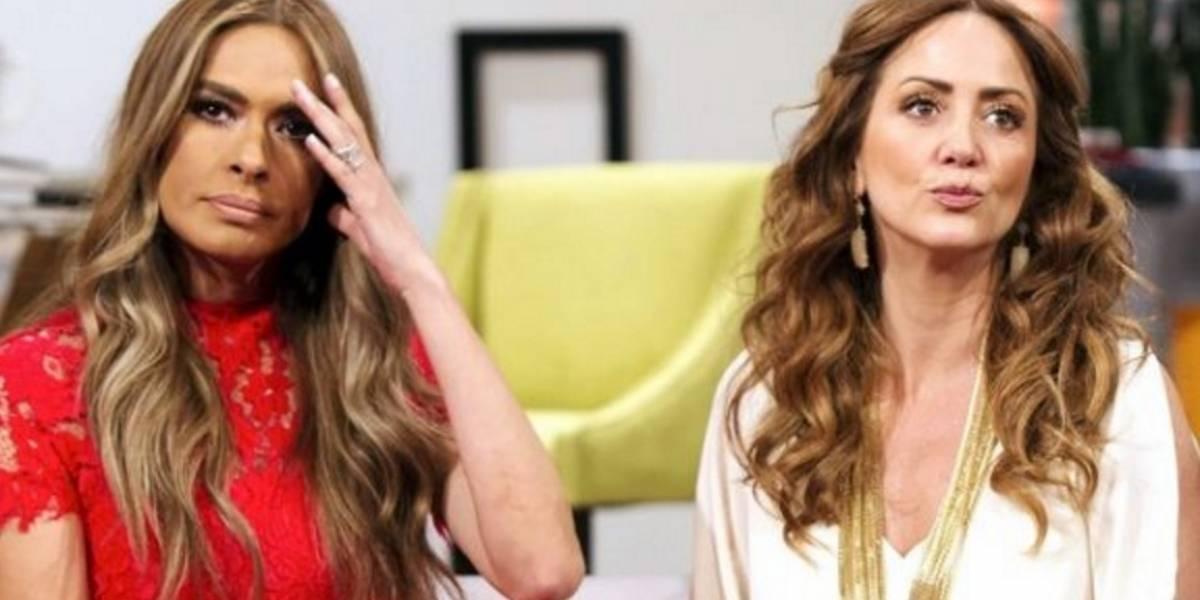 """Andrea Legarreta y Galilea Montijo muestran el """"catálogo sexual"""" de Televisa"""
