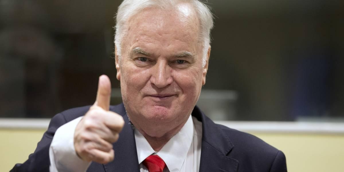 Ratko Mladic, el 'carnicero' de los Balcanes, sentenciado por genocidio