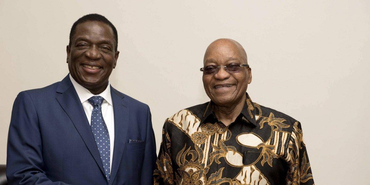 Mnangagwa, designado oficialmente para ser presidente provisional de Zimbabue