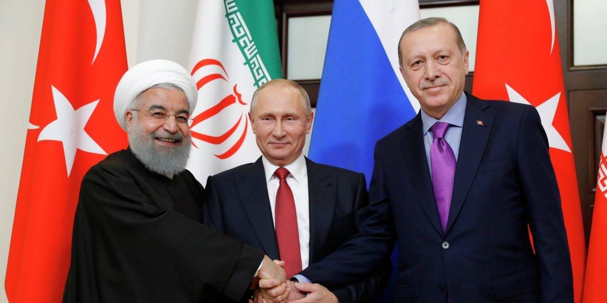 Putin lanza su proyecto de paz para Siria en la cumbre con Erdogan y Rohaní