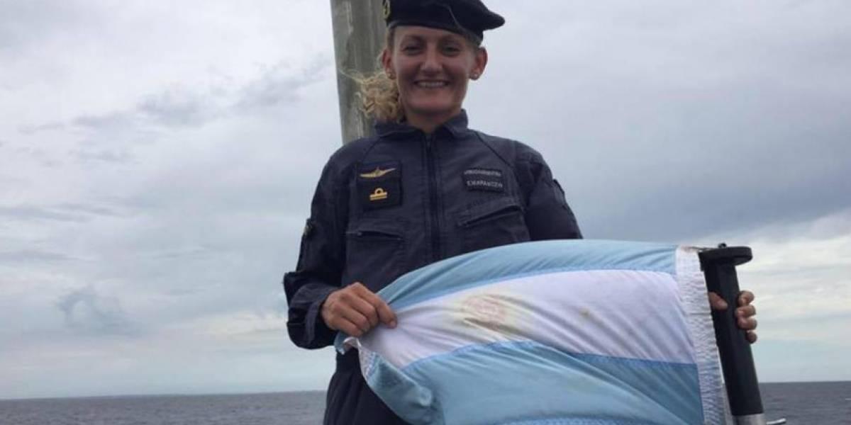 Eliana Krawczyk, a única mulher a bordo do submarino desaparecido