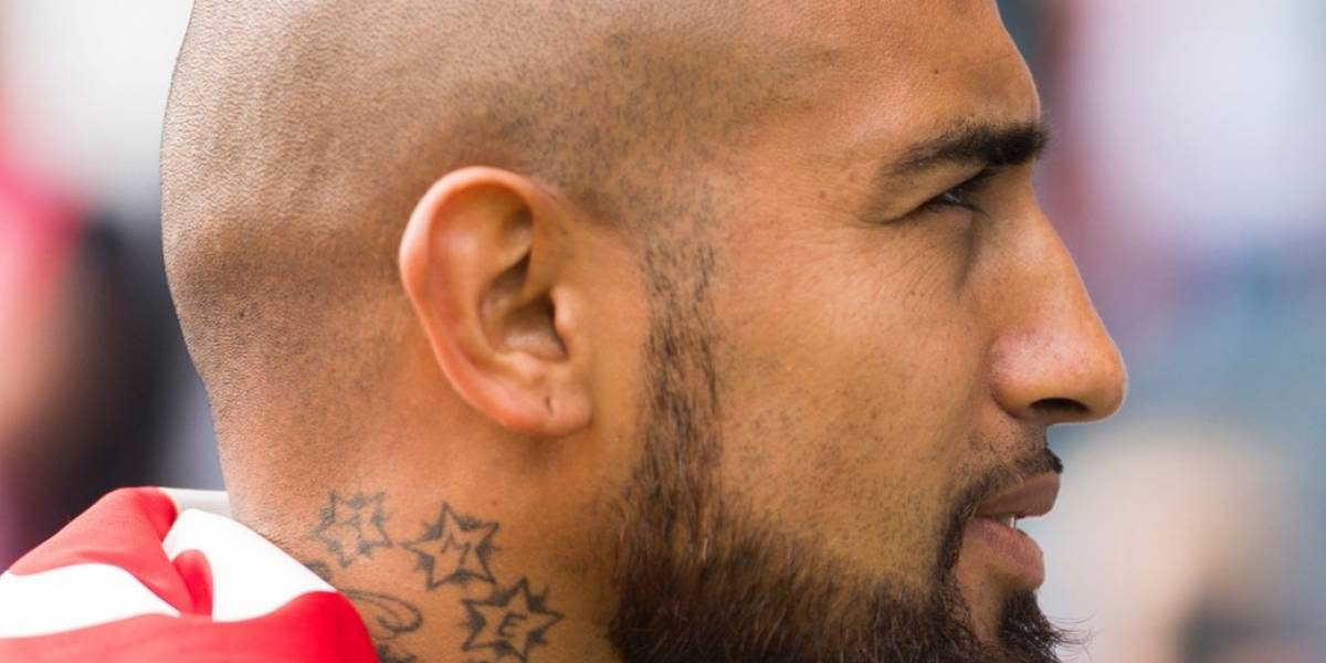 """Arturo Vidal es candidato a... """"el corte de pelo más llamativo"""" de la Champions League"""