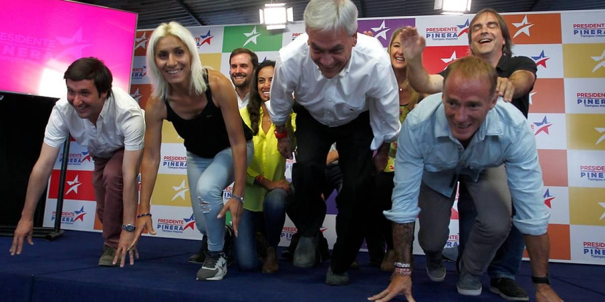 """Mira qué tanto se renovó el comando de Piñera: estos los rostros """"sub 40"""" del candidato de Chile Vamos"""