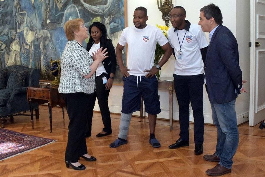 Bachelet haitiano