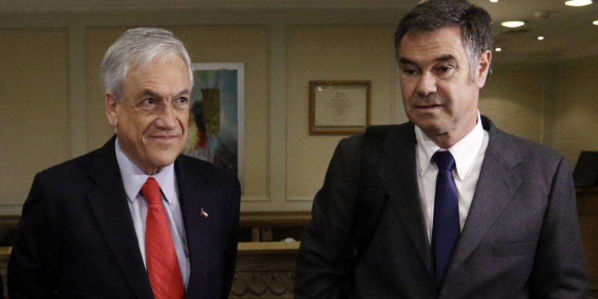 """""""No te declararon reo por lindo"""": Piñera y Ossandón se reconcilian para la segunda vuelta"""