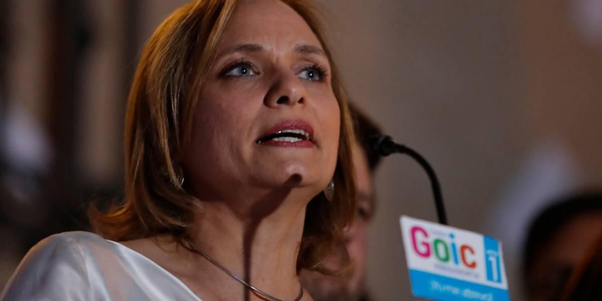 """El lamento de Goic: """"Hubo varios parlamentarios del partido que fueron desleales con mi candidatura"""""""