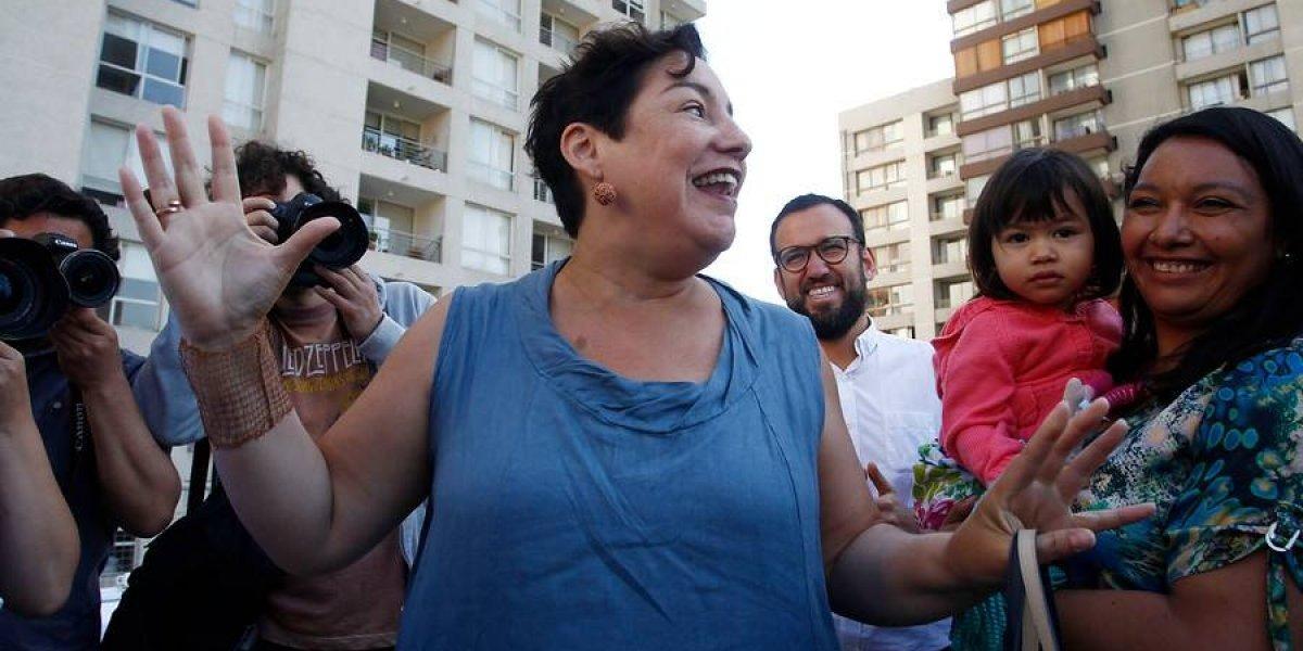 Beatriz Sánchez confirma fortaleza del Frente Amplio y ratifica que la definición a segunda vuelta será el 29