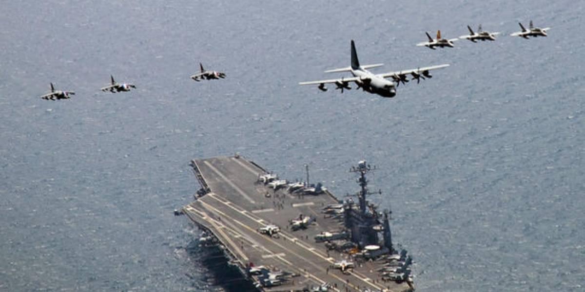 Avión militar de EEUU cae al mar con 11 personas a bordo en las cercanías de Japón