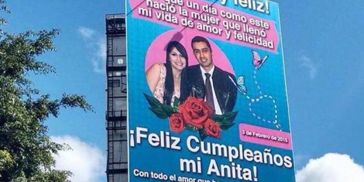 Después de la valla para Anita, circula supuesta foto de su boda con José