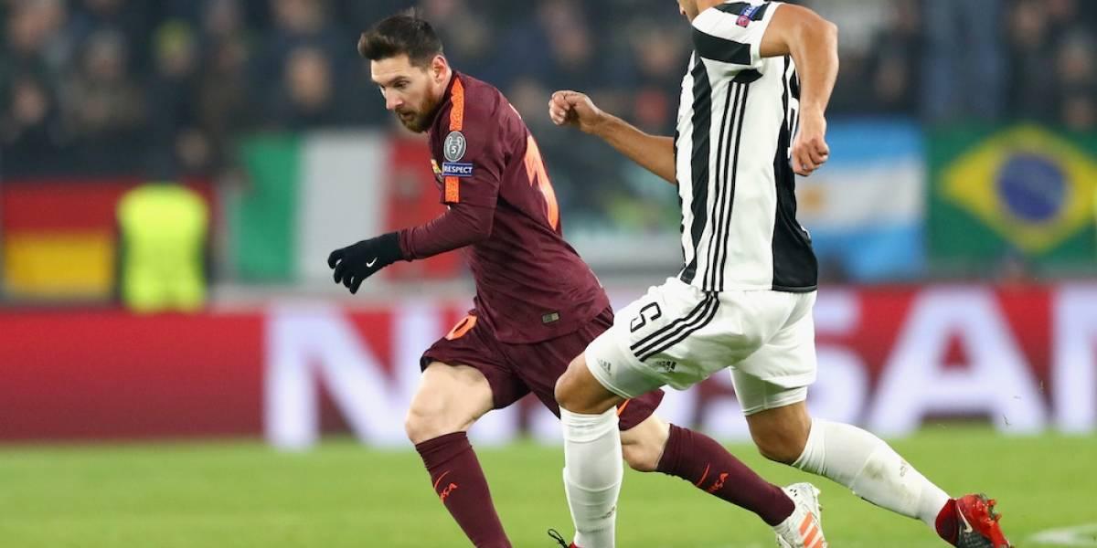 Barcelona empata con Juventus y clasifica a octavos de final de Champions