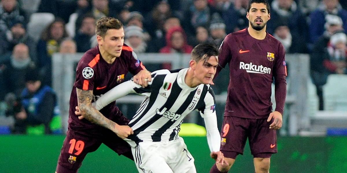 Barça empata com a Juventus, garante ponta e vai às oitavas da Liga