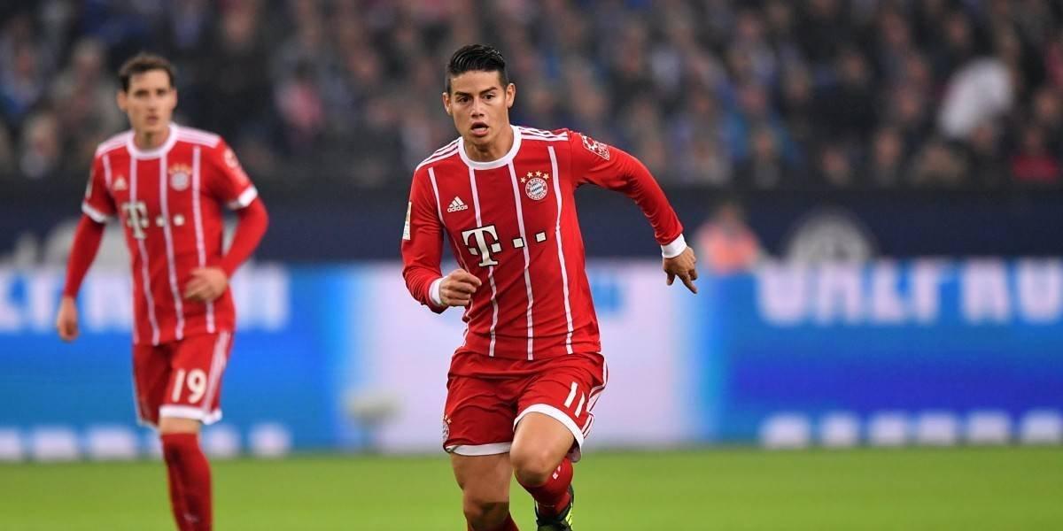 De la mano de James, Bayern quiere estirar la ventaja en la Bundesliga