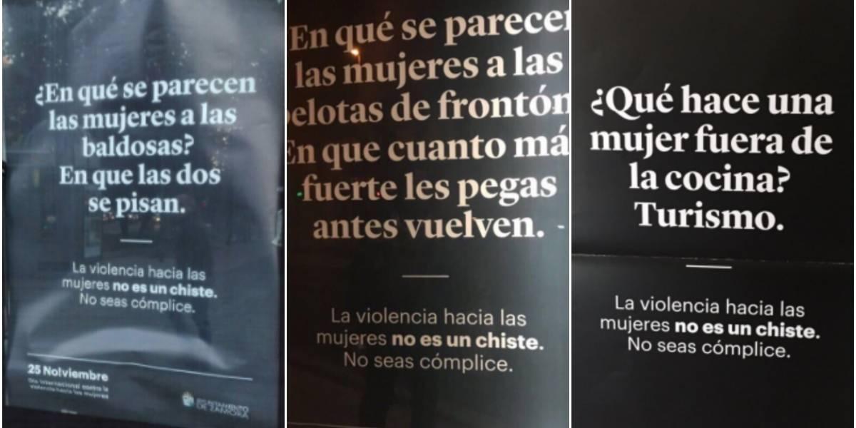 Vergüenza, burla, nefasta: la provocadora y polémica campaña contra la violencia de género que se llenó de criticas por machista